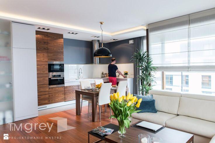Kuchnia styl Nowoczesny - zdjęcie od TiM Grey Projektowanie Wnętrz - Kuchnia - Styl Nowoczesny - TiM Grey Projektowanie Wnętrz