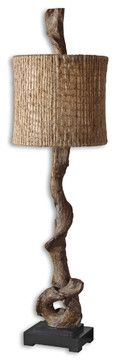 Driftwood Buffet Lamp traditional-table-lamps