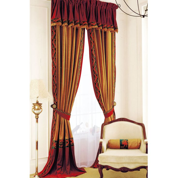 Ulinkly Discount Custom Luxury Window Curtains Drapes