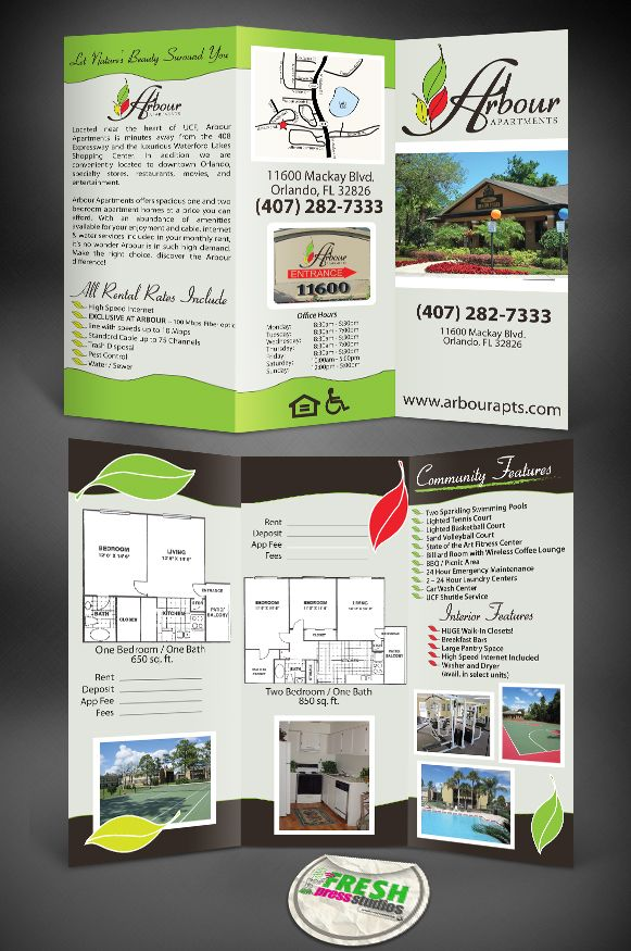 apartment brochure templates - 36 best images about apartment leasing on pinterest