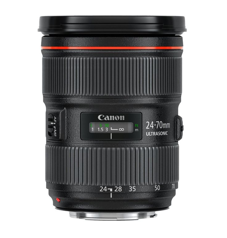 Canon EF 24-70mm f/2.8L II USM Lens, Canon Authorized USA Dealer - Warranty Inc for $1,699.99