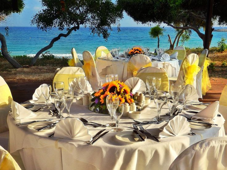 Are you dreaming of the perfect wedding reception with the crystal blue backdrop of the Mediterranean Sea?  Then put your trust in the dedicated wedding specialists of Grecian Bay Hotel Cyprus and they'll grant your wish with a once-in-a-lifetime experience, that's our promise to you!  http://bit.ly/1ARmDMK  #cyprus #weddingplanning #bridal #ayianapa