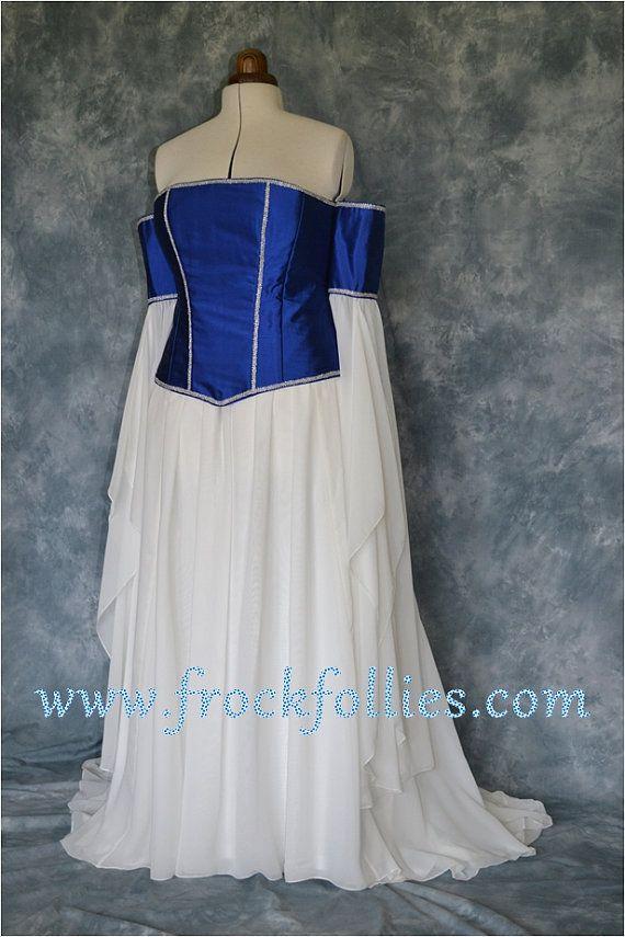 Mittelalterliche Hochzeit Kleid Elfen Kleid von frockfollies