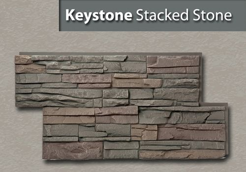 Keystone genstone products different type of faux stone for Different types of stone for houses