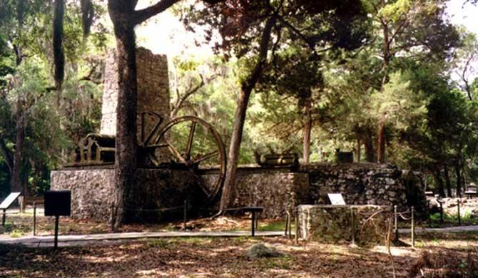 Yulee Sugar Mill Ruins Historic State Park Homosassa Fl