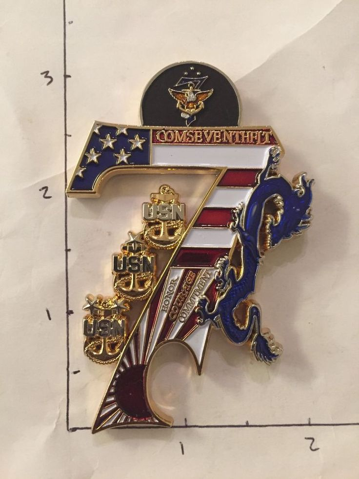 Uss Blue Ridge Lcc 19 Japan Navy Chief Cpo Challenge Coin