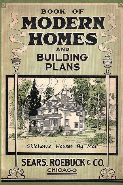 Sears Modern Homes Catalog 1908 4th edition offering 30 different models of homes. Follow this flickr link to see the entire catalog!