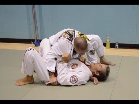 ▶ Knee On Belly Escape/Sweep with Pedro Sauer - YouTube