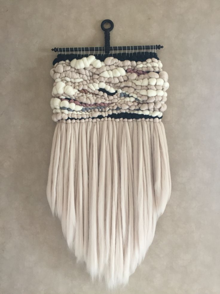 Mrs. Luxe Merino Wool Woven Wall Hanging                                                                                                                                                     More