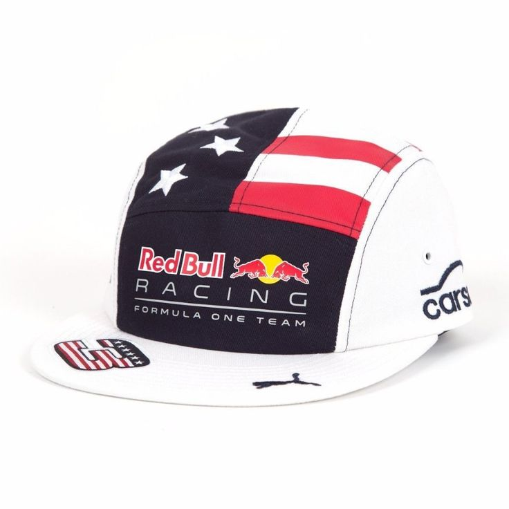Red Bull F1 Racing 2017 Daniel Ricciardo Special Edition USA Grand Prix Hat