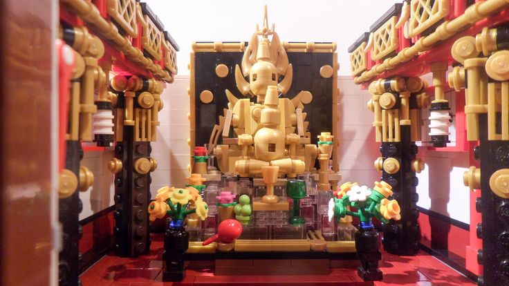 Буддийский Храм WIP (3)