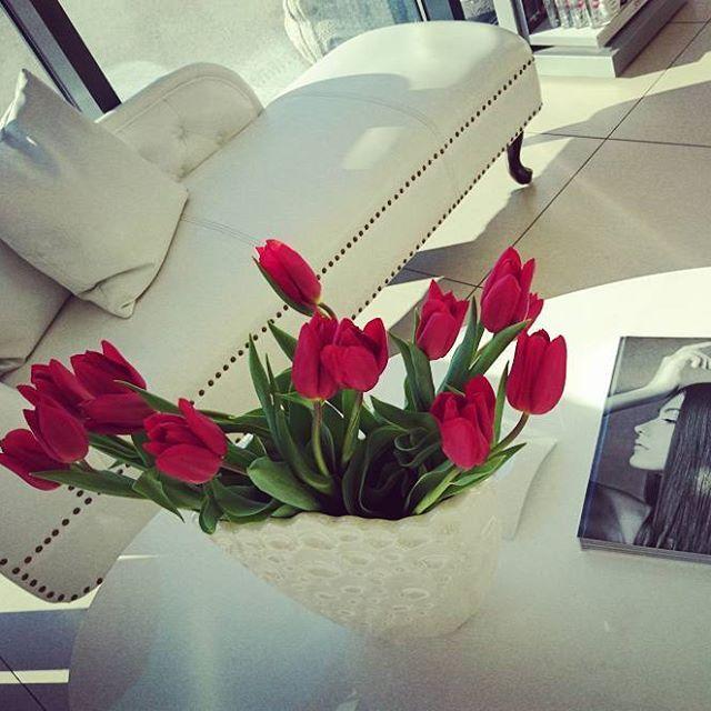 Beauty Time out Zone 💇 💆 ❤️ Was gibt es schöneres als sich zu verwöhnen lassen und entspannen bei seinem Friseur des Vertrauens. #timeout #relax #hairstylist #blickfang #salzburg #igerssalzburg #flowers #beauty #newhair #decoration #redflower #tulips #white #staysexy #blogger_at #salzburgblogger #hairdresser #valentina #bestgirl #colorful #creative #happy #lifestyle #dream #trendy #like4like #follow4follow