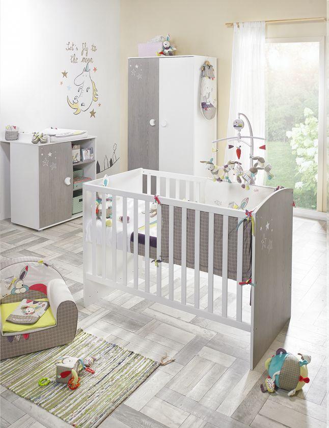 Ber ideen zu sauthon auf pinterest chambre sauthon lit sauthon und runde babybetten for Deco slaapkamer