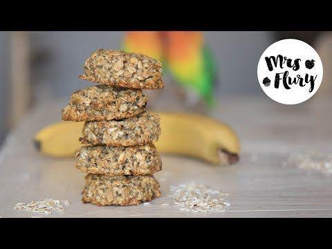 Gesunde Frühstücks Cookies aus 4 Zutaten