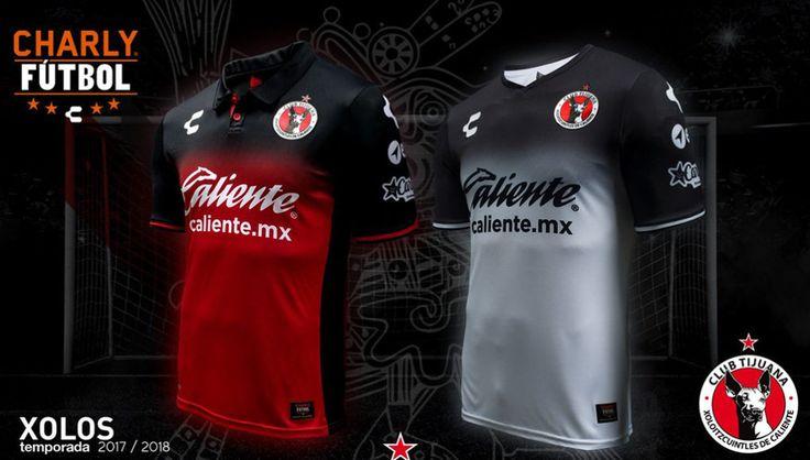 Camisas do Club Tijuana 2017-2018 Charly
