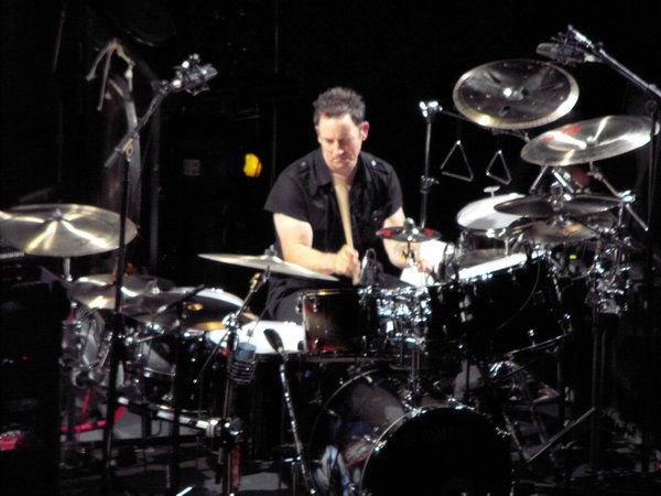 Jimmy Chamberlin - one of the best drummers in the world.
