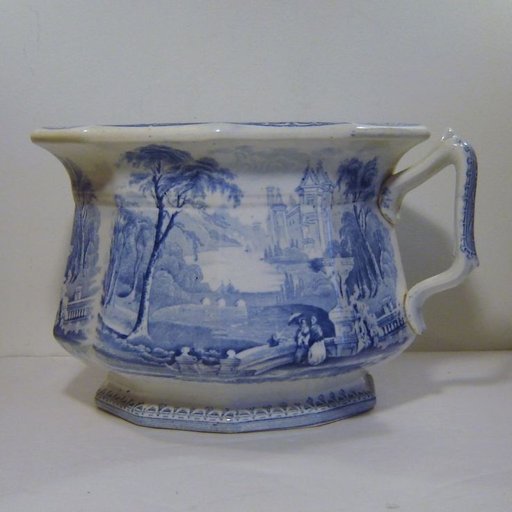 Antique Challinor Lozere Blue Transferware Chamber Pot Staffordshire. 82 best Chamber Pots  Bourdaloues  Toilet   Spittoons images on