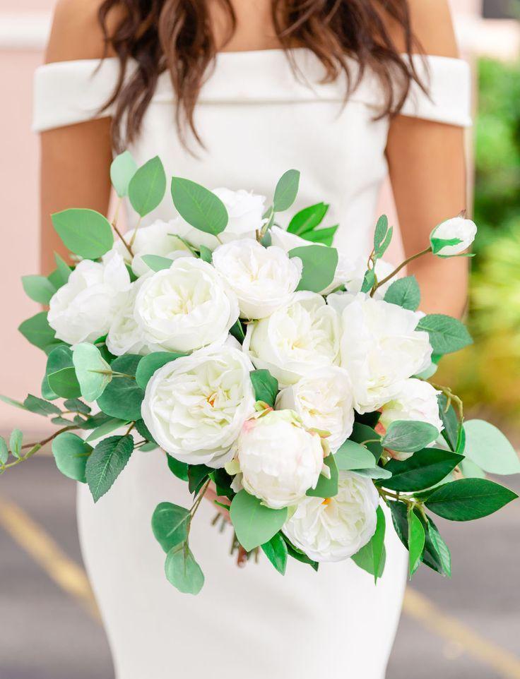 Real Or Silk Gorg Wedding Flowers For Rent That Won T Break The Bank Silk Flowers Wedding Bridal Bouquet Pink Flower Bouquet Wedding