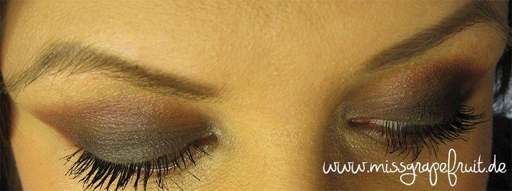 Drogerie-Look mit einigen Produkten aus der Beauty goes Safari LE - Miss Grapefruit - Beauty Blog