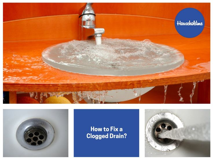 How to Fix a Clogged Drain?  #cloggeddrain #drain #draincleaning #fixdrain #DIY