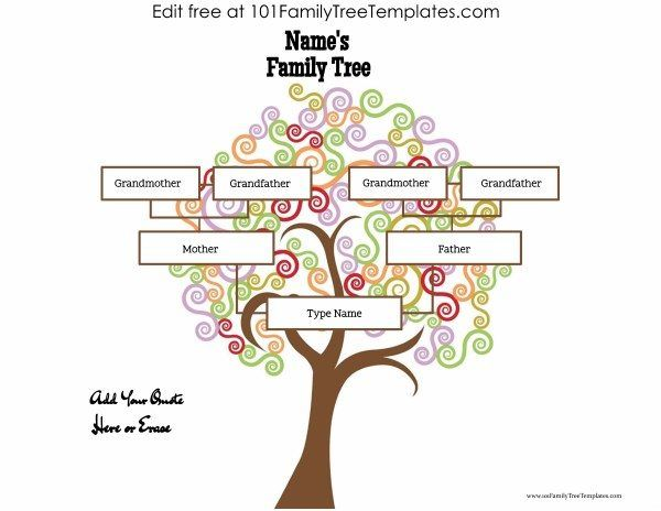 25 best Family Tree Templates images on Pinterest Family trees - blank family tree template