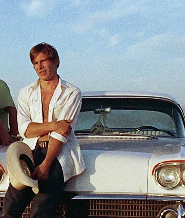 "harrisonford42: ""Harrison Ford - American Graffiti 1973 """