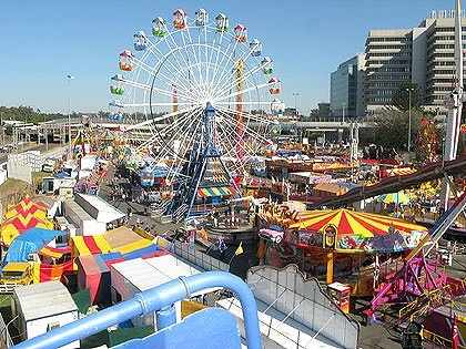 Brisbane's EKKA (Royal Show) held for 10 days in August,
