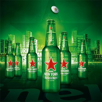 the dutch beer brand heiniken  is sold all around the globe. so it is understandeble that the dutch are really proud of this. it is the only beer brand sold almost everywhere. you could call it the coca cola of beer.