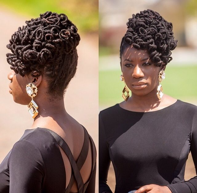 Curly loc updo locs pinterest updo locs and dreads pmusecretfo Image collections