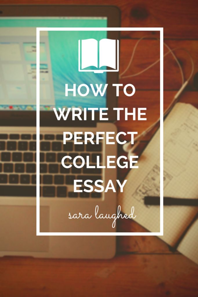 Does anyone have any advice for writing a college essay?