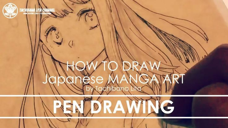 ✔ Pen Drawing   How to draw Manga Art 2018.01.12