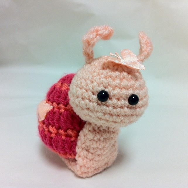 Amigurumi Snail gewoon tof Pinterest Snails and ...