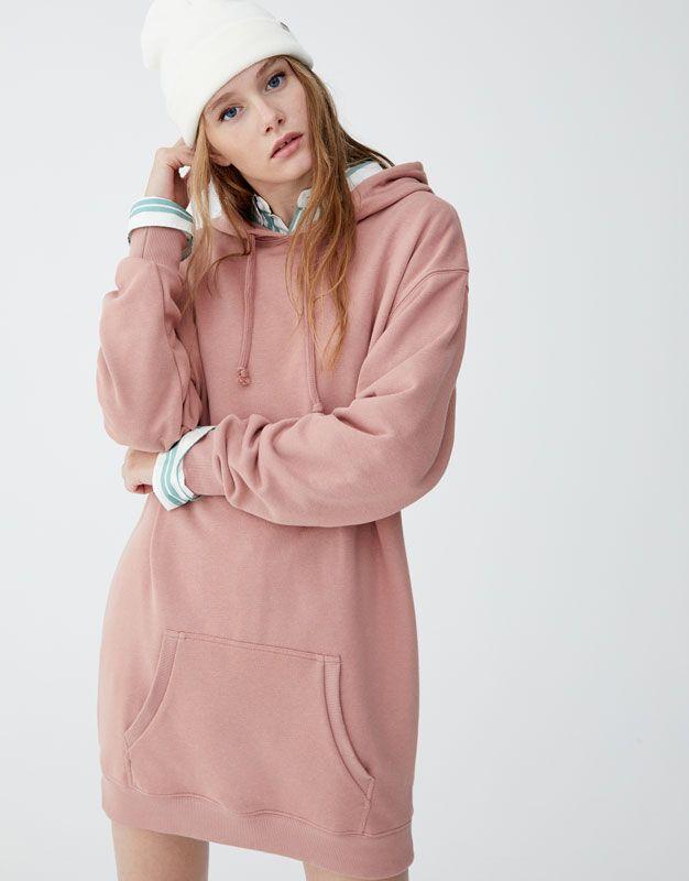 2019 Sweatshirt Sudadera En Pull amp;bearHoodies Dress Hooded vYbfyg76
