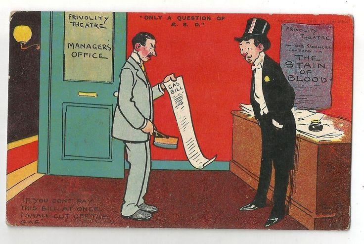 de comic humour funny postcard england signed tom browne | eBay