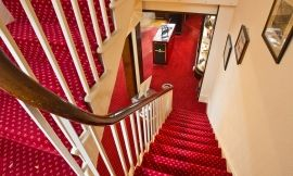 Inside stair case. Courtesy of Christopher Cassidy & David Bartholomew