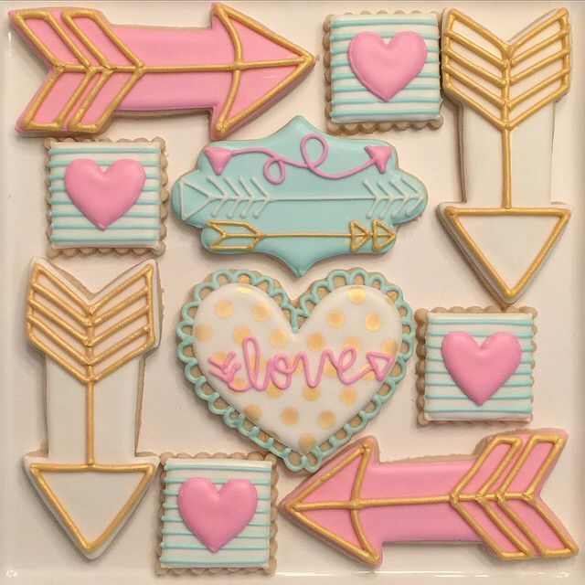 29 Best Valentine S Day Fun Images On Pinterest Decorated Cookies