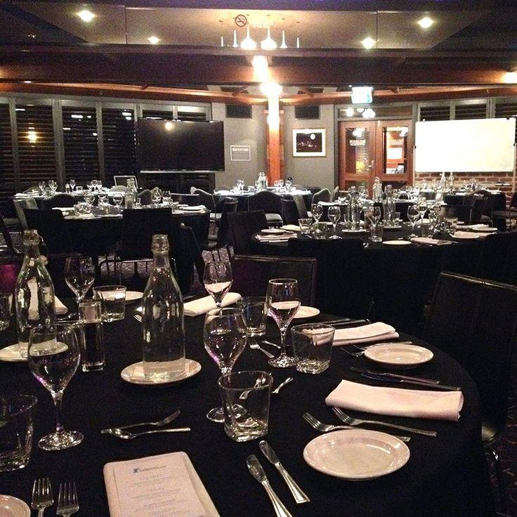 Fullarton Room - set for dinner