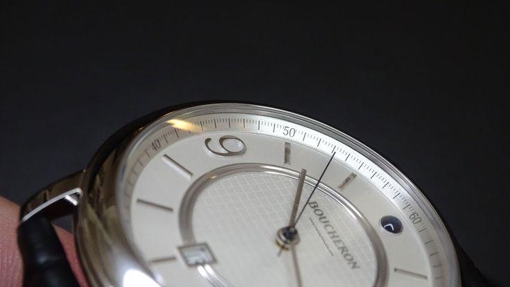 #Boucheron Epure Acier 42 mm numerales