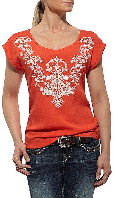 Ariat Women's Lindsay Shell Shirt Style: A10012237
