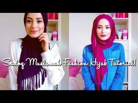 Hijab Tutorial : Sadoq Muslimah Fashion Wear!