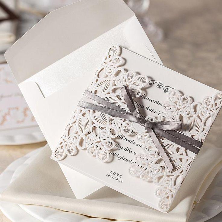 40 best Wedding ideas on Invitations images on Pinterest | Wedding ...