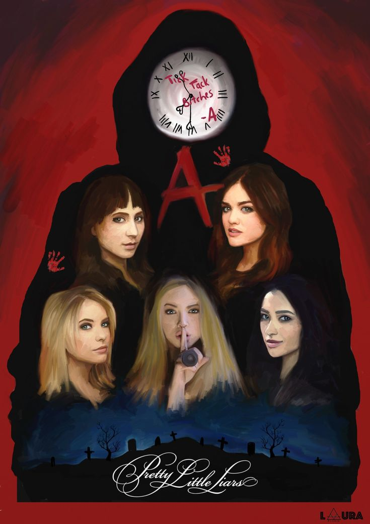 """PRETTY LITTLE LIARS"" – Poster Spy"