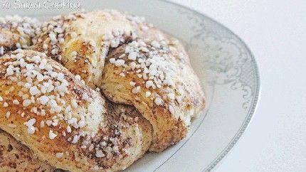 خبز الضفيرة بالحبهان