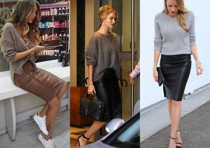 Leren rok naar kantoor, inspirtatie. Leather skirt to the office, inspiration. www.girlalmighty.nl