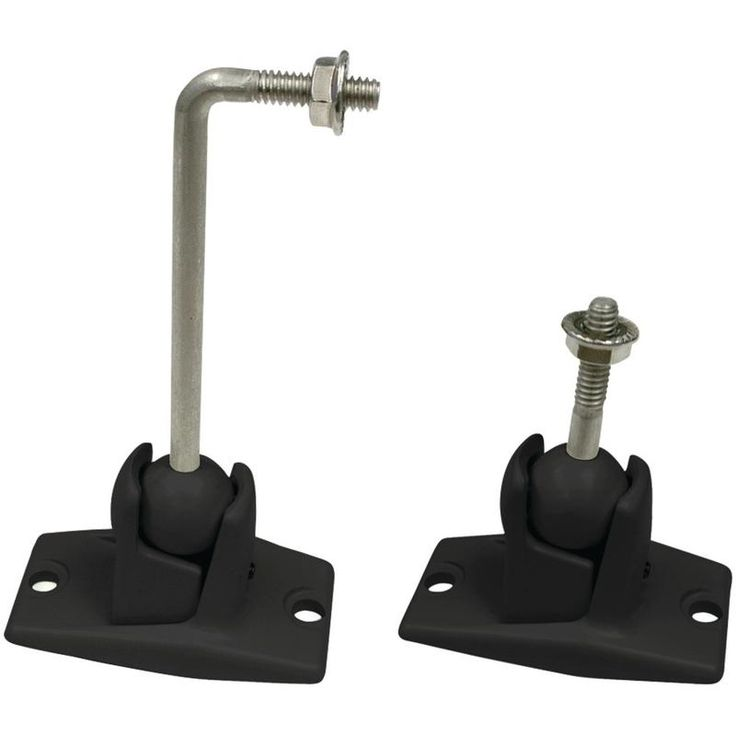 Omnimount Stainless Steel Universal 10lb Speaker Wall And Ceiling Mount Kit