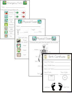 Growing Play: Pretend Play Box - Doctor Hospital