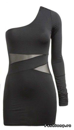 МК платье со вставками / шьем сами платья из трикотажа