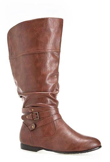 Plus Size Wide Calf Boots || Fatgirlflow.com