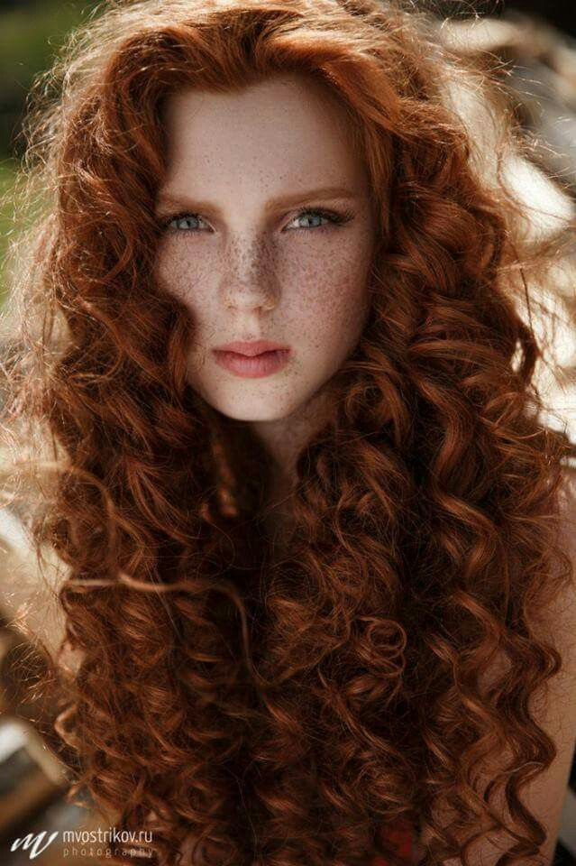Ginger Curly Redhead Teen 63