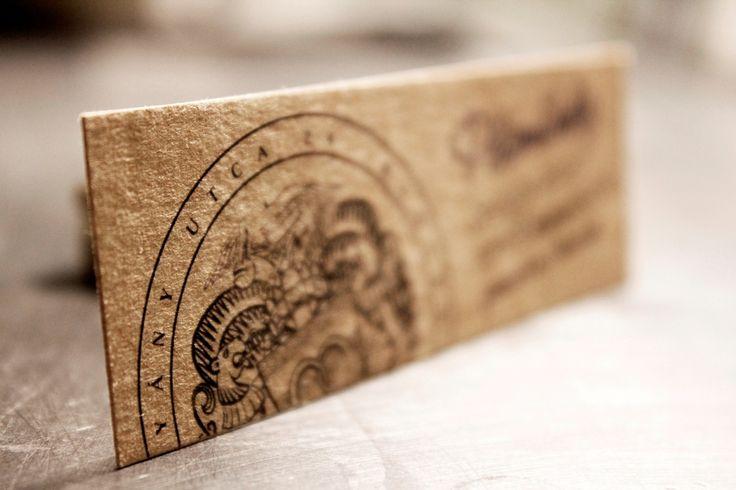 Exkluzív névjegykártya, formabontó egyedi mérettel. Exclusive business card http://www.buddhaprint.hu/exluziv_nevjegyek
